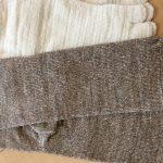 冷えとり靴下、綿とウールで温かさに違いがあるか??ヒオリエで比較